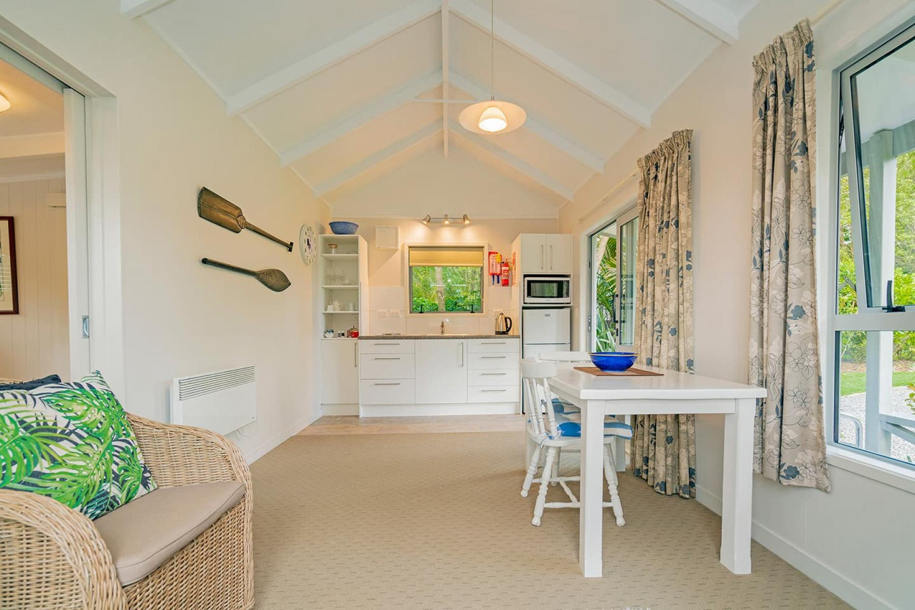 Example Cottage open plan living and dining