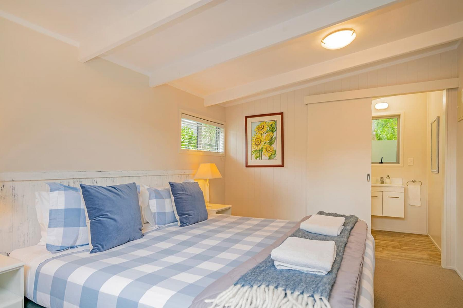 Example Cottage bedroom