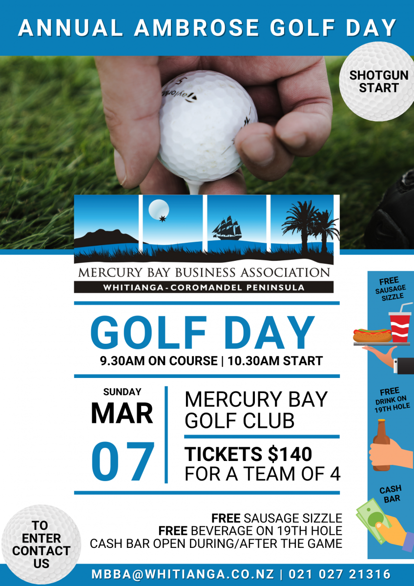 Annual MBBA Ambrose Golf Day