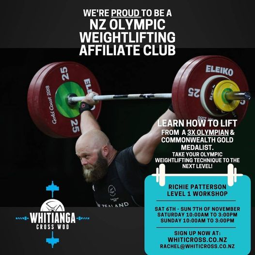 Olympic Gold Medal Weightlifting Workshop