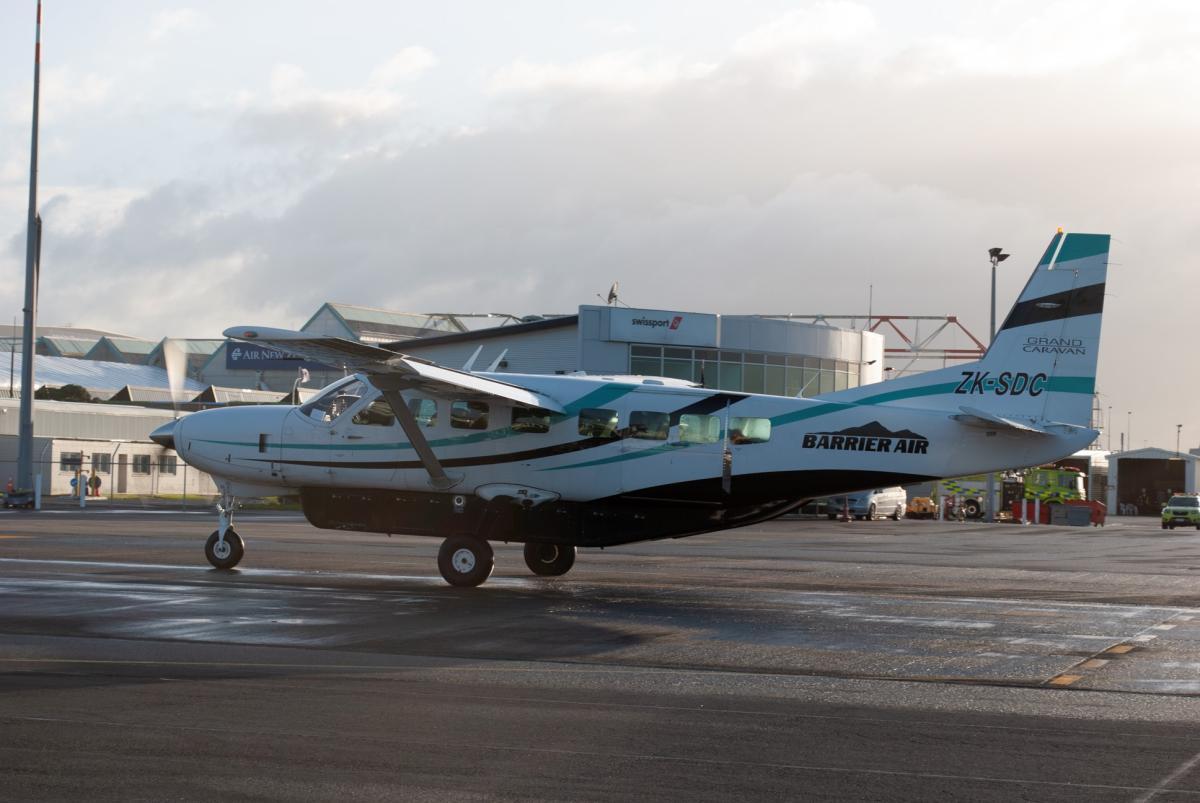 Barrier Air's Whitianga Launch