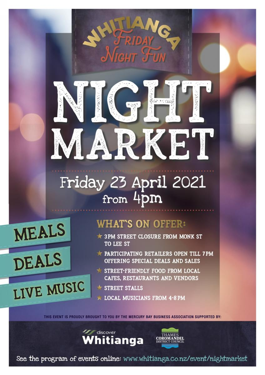 Whitianga Night Market