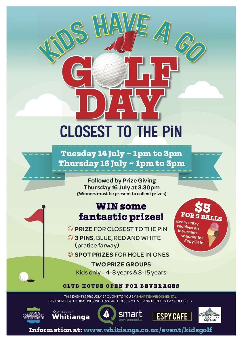 Kids Have a Go Golf Day