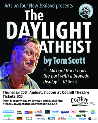 Creative Mercury Bay Presents The Daylight Atheist
