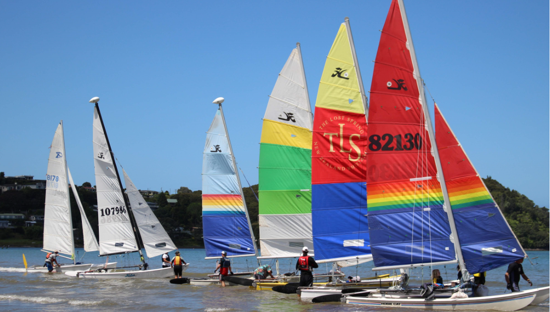 Some of our local Whitianga fleet