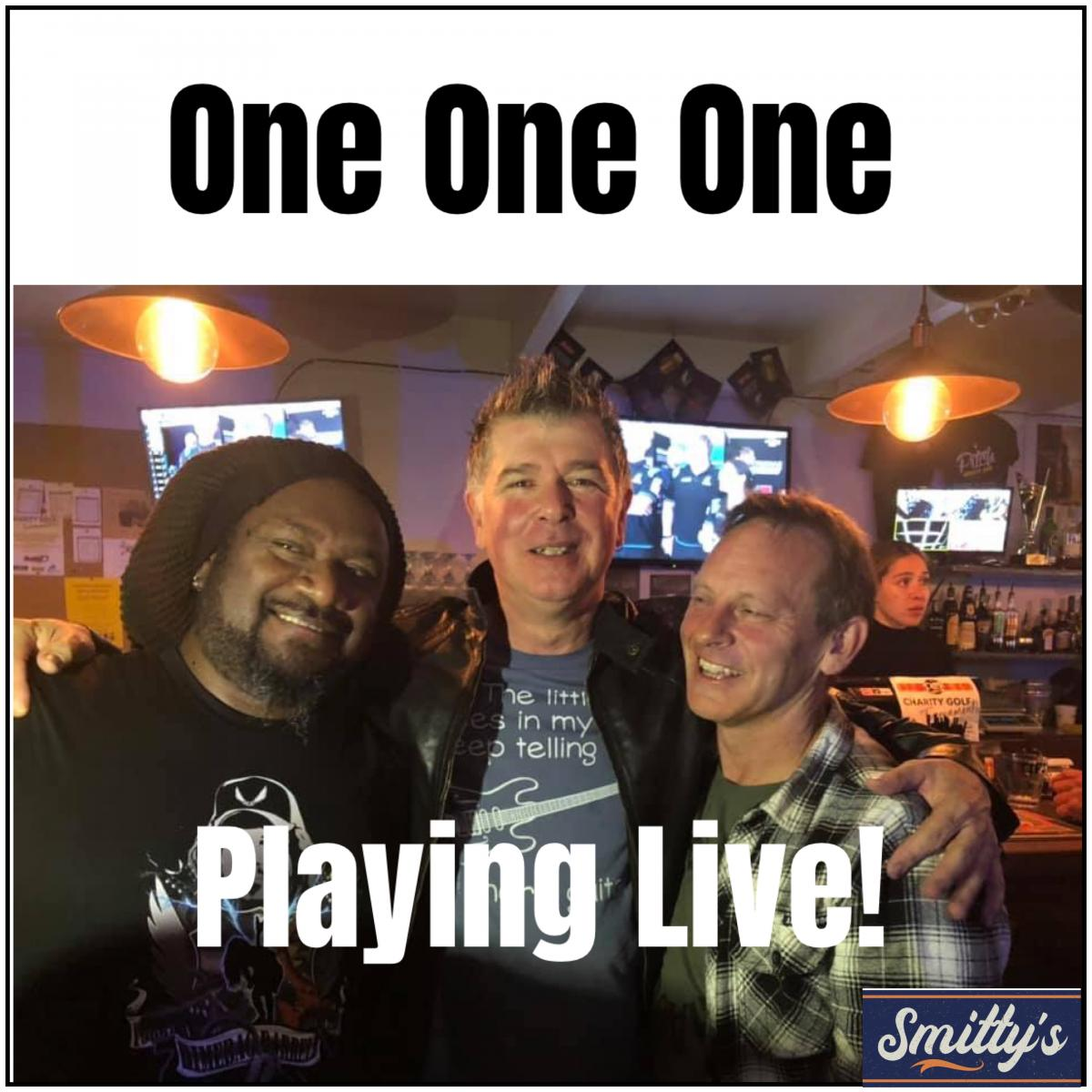 One One One (covers brand) Live at Smitty's Sports Bar & Grill