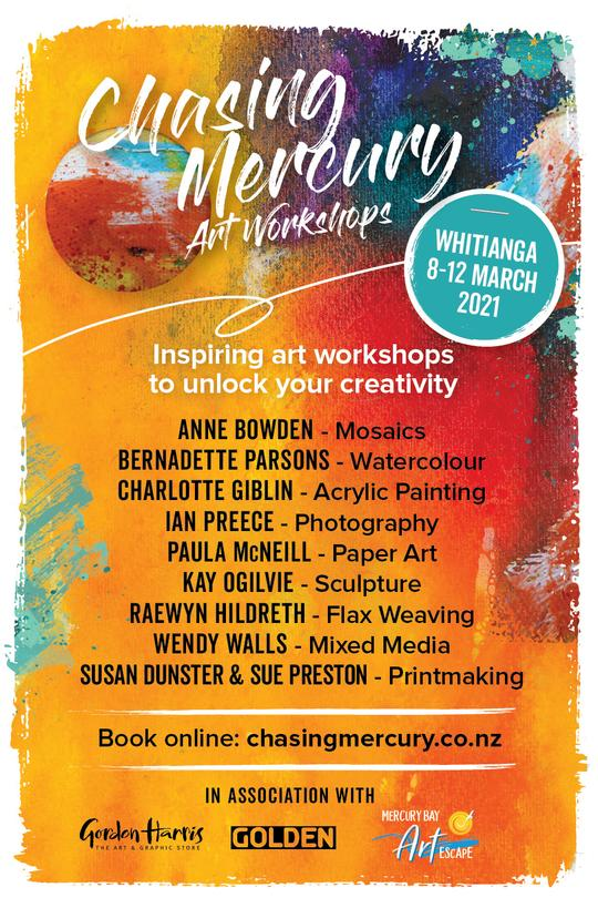 Chasing Mercury Art Workshops Whitianga