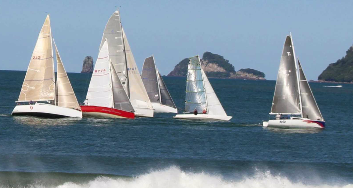 Mercury Bay Boating Club New Year's Sailing Race