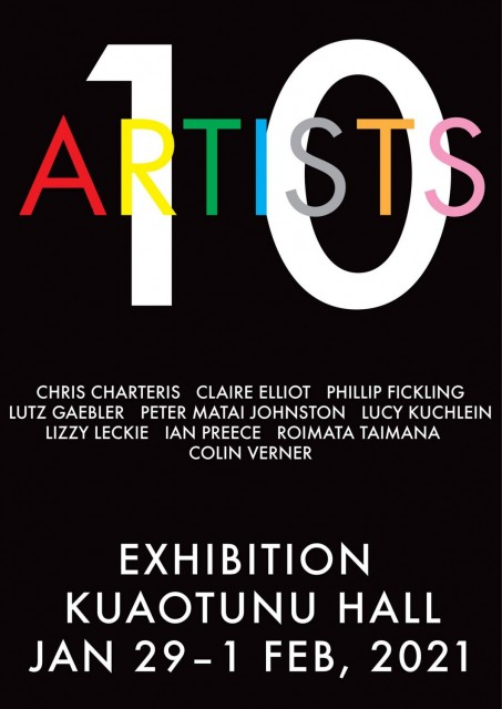 10 Artistis - An Art Exhibition in Kuaotunu